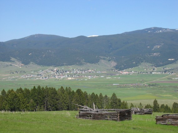 Philipsburg and the beautiful Flint Creek Valley