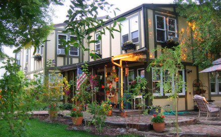 Philipsburg Montana Lodging at the Quigley Cottage Bed and Breakfast
